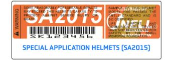 SNELL-SA2015-Label