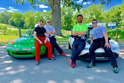 race-car-drivers-lime-rock-park-mazda