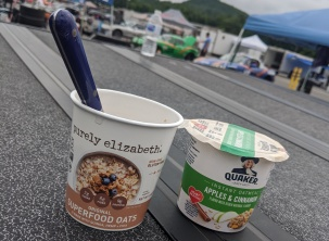 Breakfast-At-RaceTrack-Lime-Rock-Oatmeal